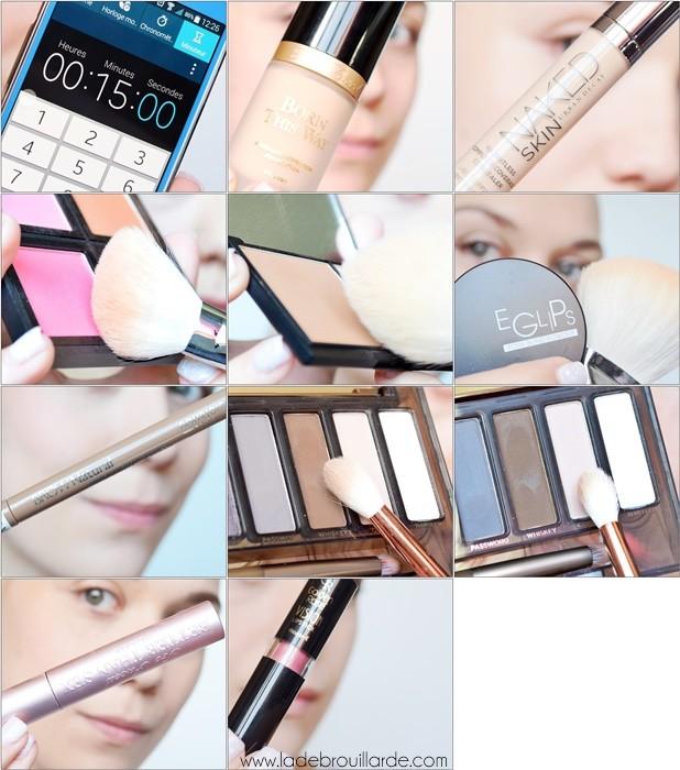 15 minutes tuto maquillage pour tous les jours