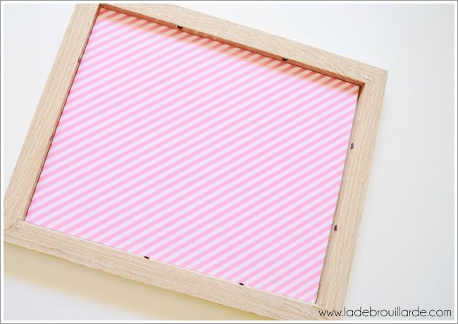 DIY Deco tableau to do list