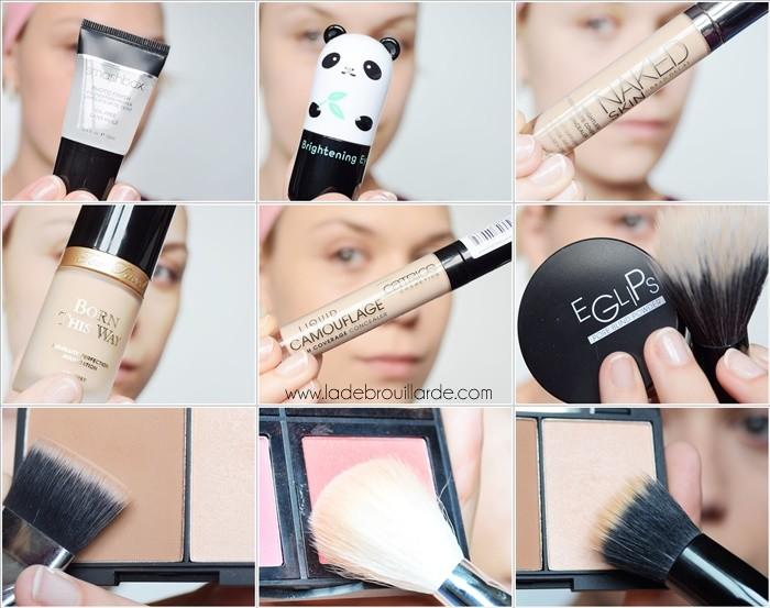 Tuto maquillage avoir un teint parfait ou presque la d brouillarde - Tuto de maquillage ...