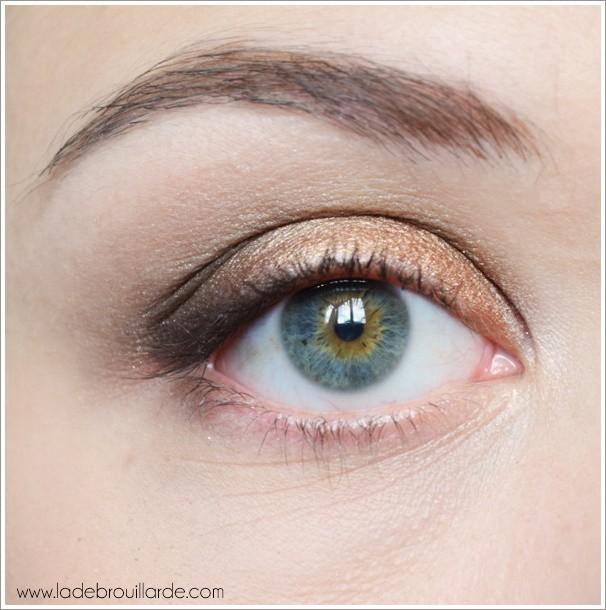 Etape 5 tuto maquillage smoky automne