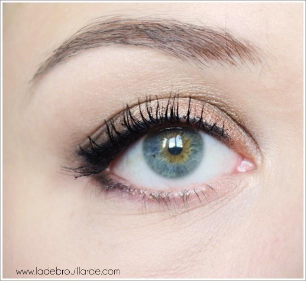 Etape 6 tuto maquillage smoky automne