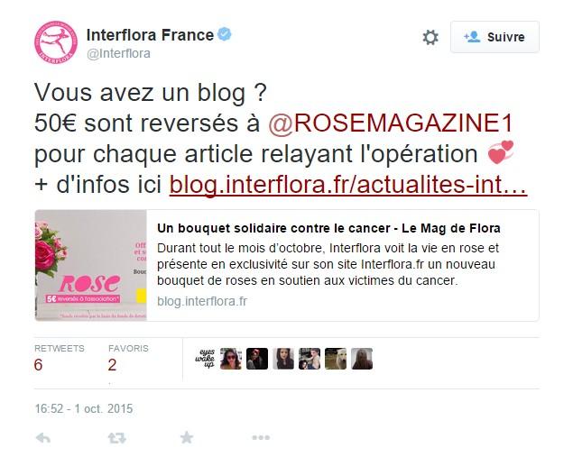 Interflora Article 50€