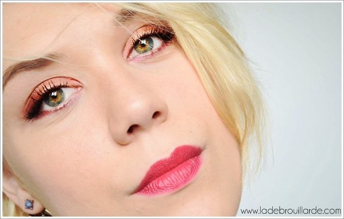 Tutoriel Maquillage yeux vert urban decay Vice 4