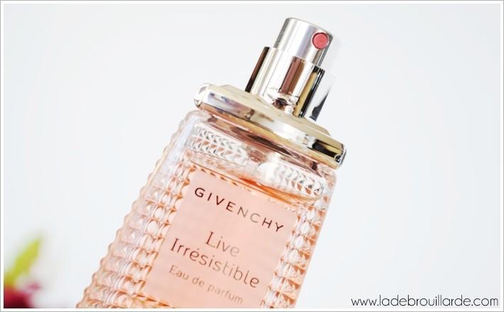 Live irrésistible de Givenchy