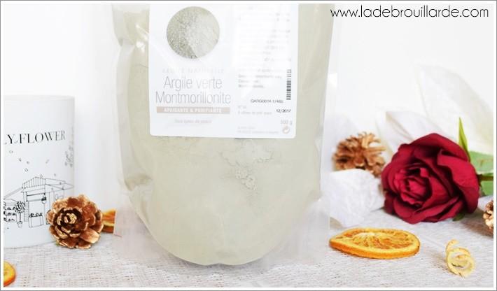 argile verte Montmorillonite recette maison