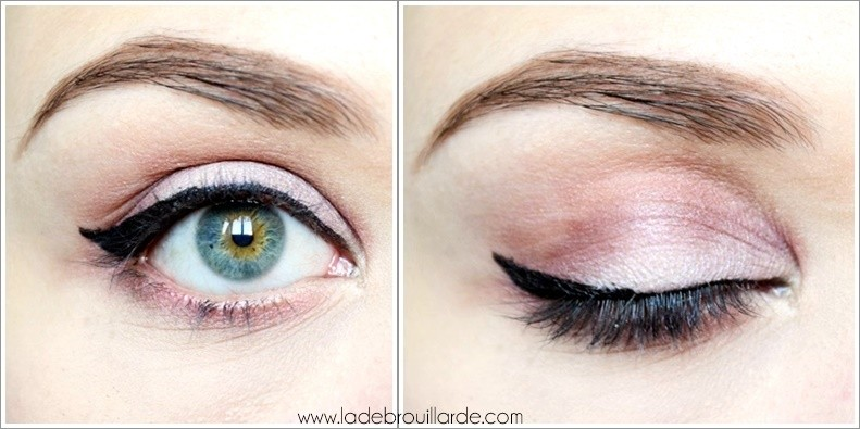 Tutoriel Make up Paillette 4