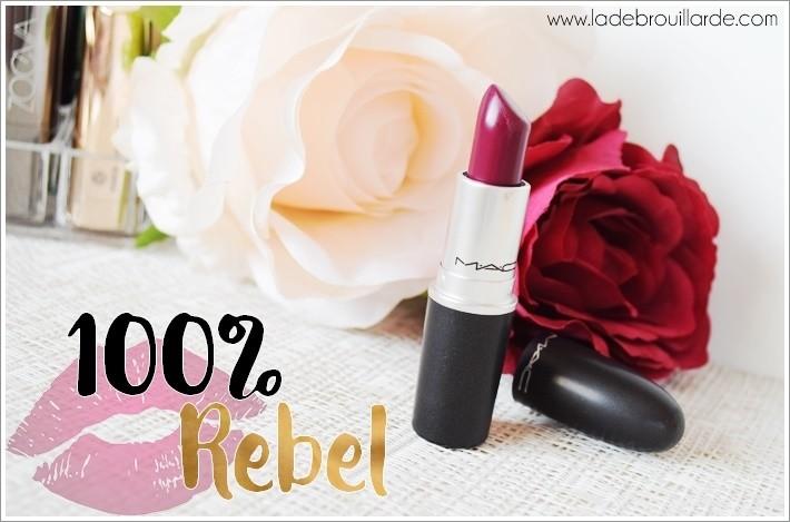 rouge à lèvre prune parfait rebel mac