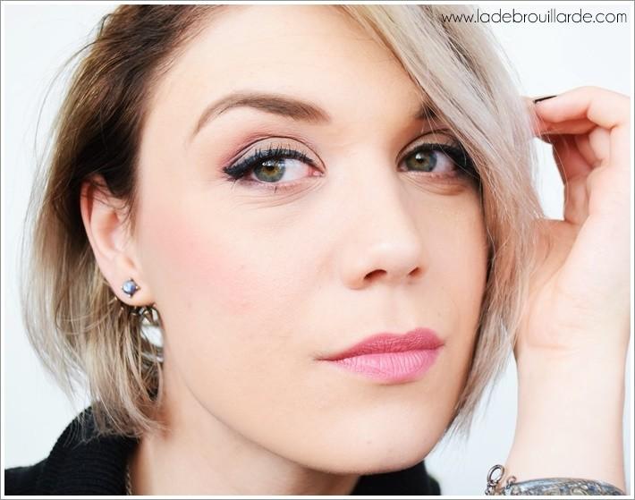 Le blush Corail cro030- Palette blush Spectrum Zoeva