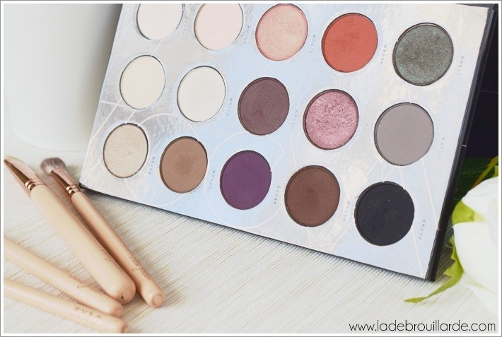 Revue makeup palette Warm Spectrum Zoeva
