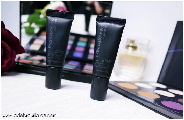Maquillage des yeux Le Primer Mat Eyeshadow Fix de zoeva avis