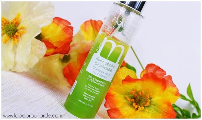huile hydratante cheveux bi-phasé mulato