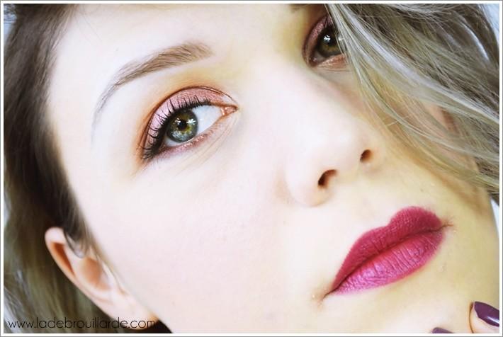 maquillage pétillant et coloré