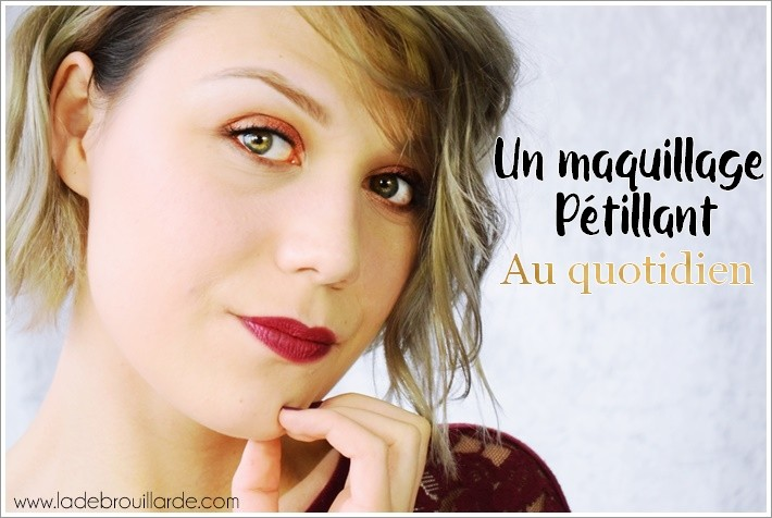 Tutoriel maquillage Coloré quotidien