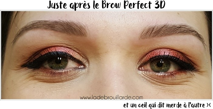 gel a sourcil