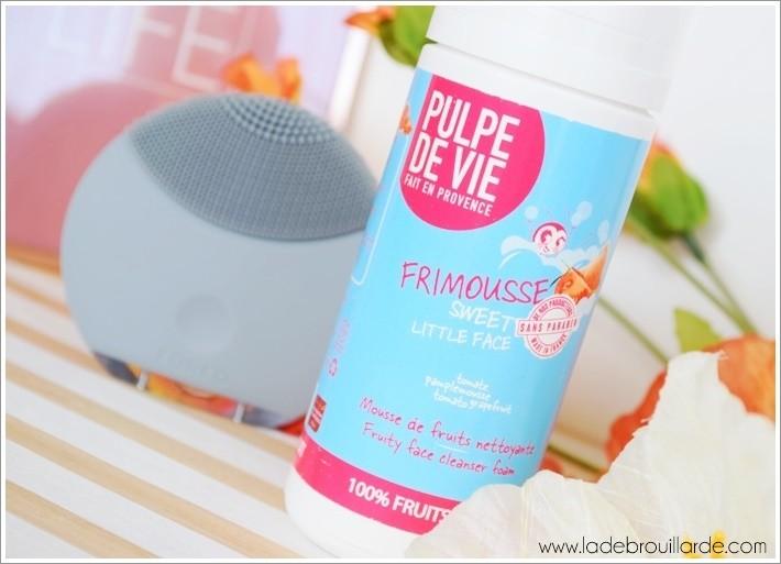 Mousse nettoyante Pulpe de vie Frimousse avis