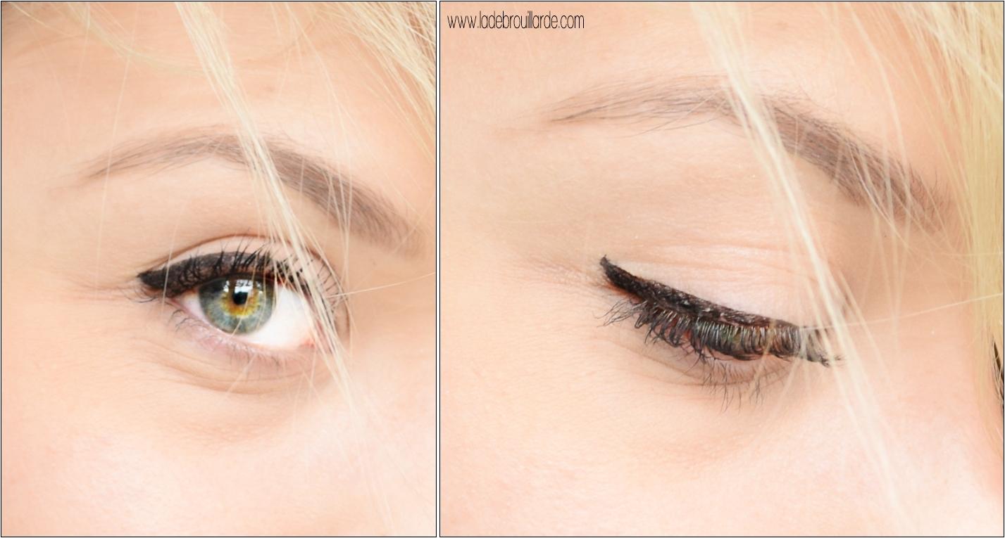 Application Eye lIner Parfait Cat eye pen de zoeva