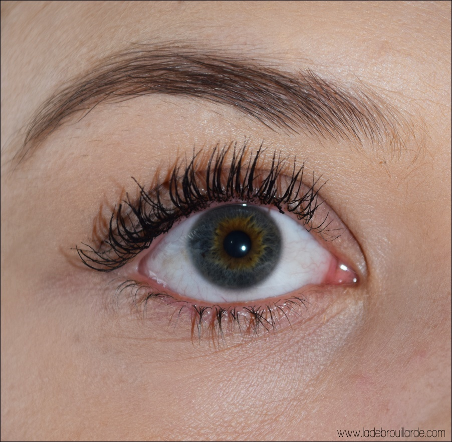 Swatch Better than sex Too Faced mascara