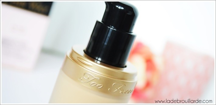 Revue Fond de teint too faced