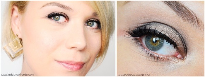Maquillage Smoky Naked