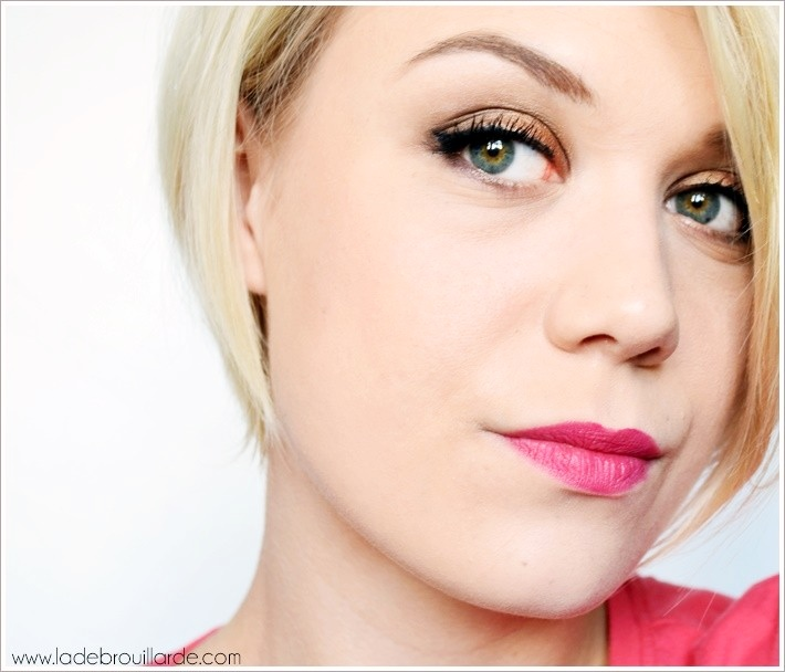 Maquillage simple automne
