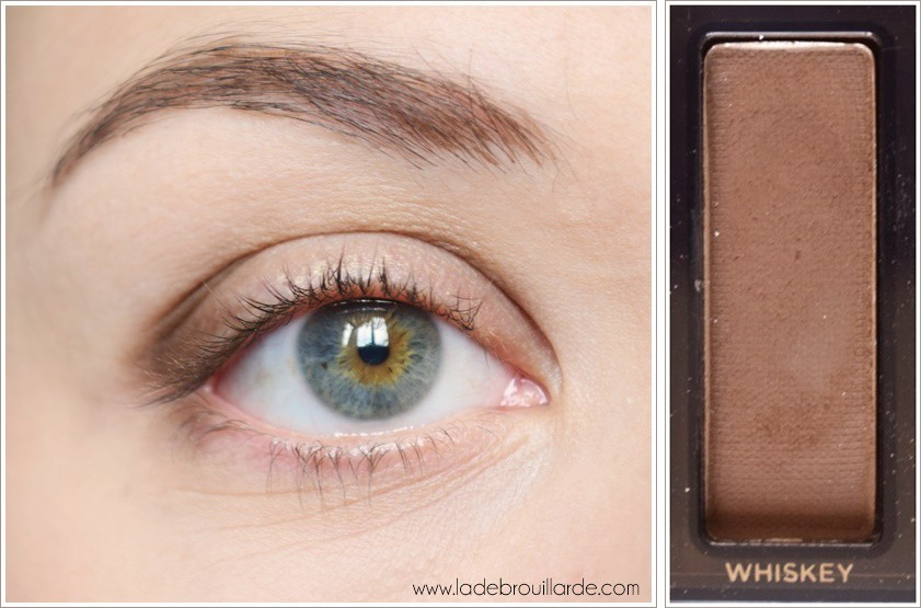 Etape 1 tuto maquillage smoky automne
