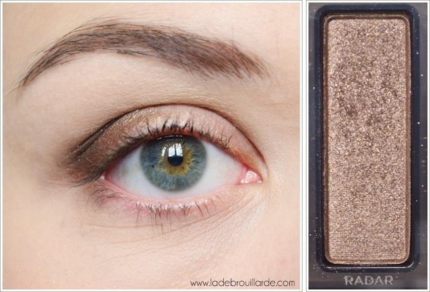 Etape 2 tuto maquillage smoky automne