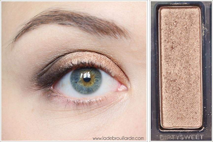 Etape 4 tuto maquillage smoky automne