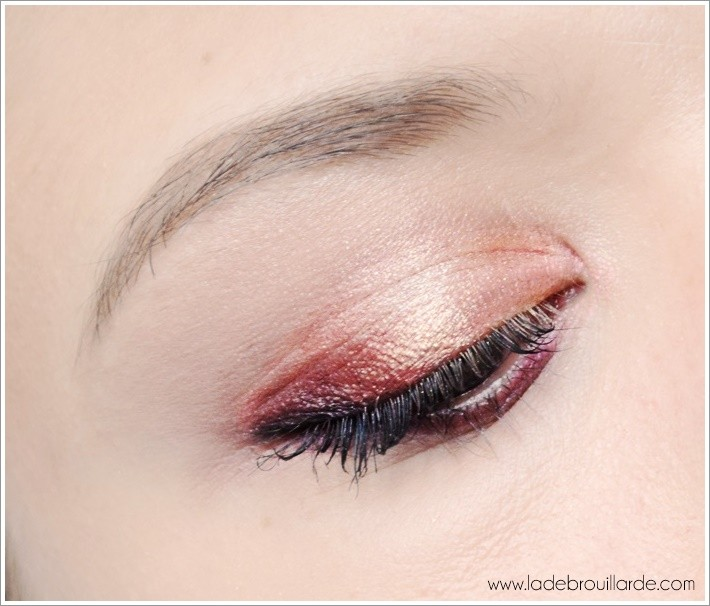 Tutoriel maquillage Vice 4 Prune