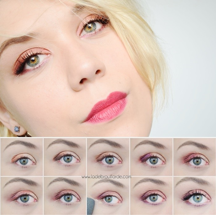Maquillage yeux avec urban decay - Maquillage yeux nude ...