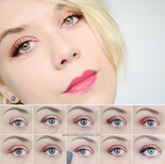 tutoriel maquillage vice4 Urban Decay
