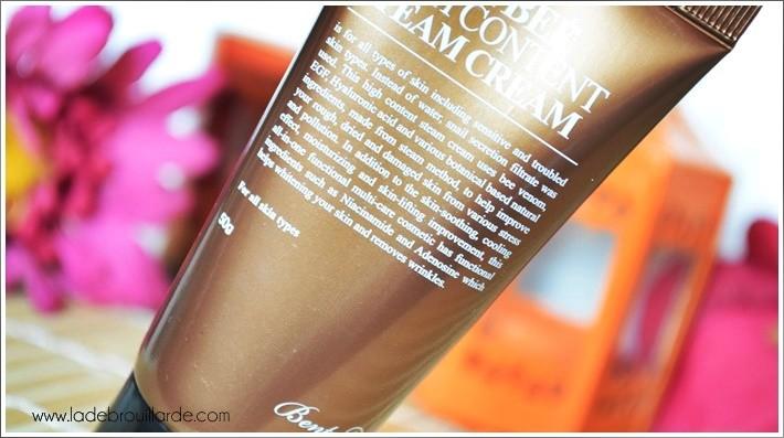 crème asiatique benton peaux mixte eclat du teint
