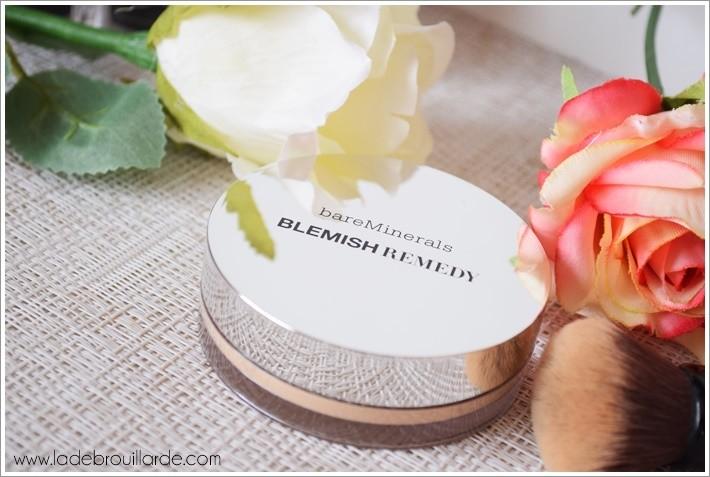 fond de teint bareminerals Blemish Remedy anti-imperfection