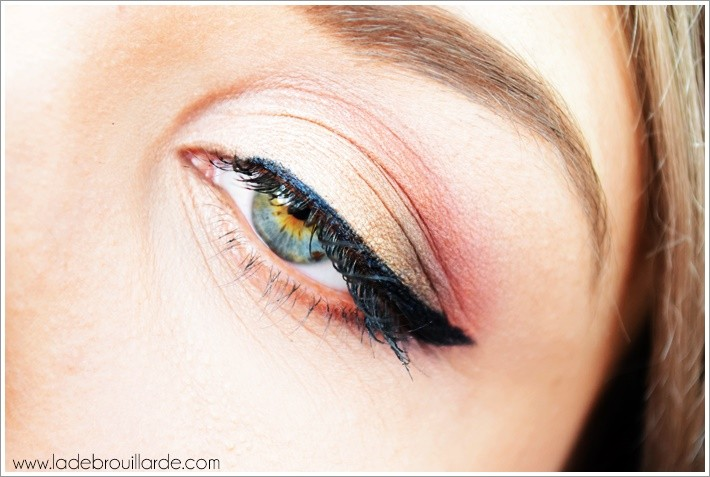 Maquillage prune gold warm spectrum