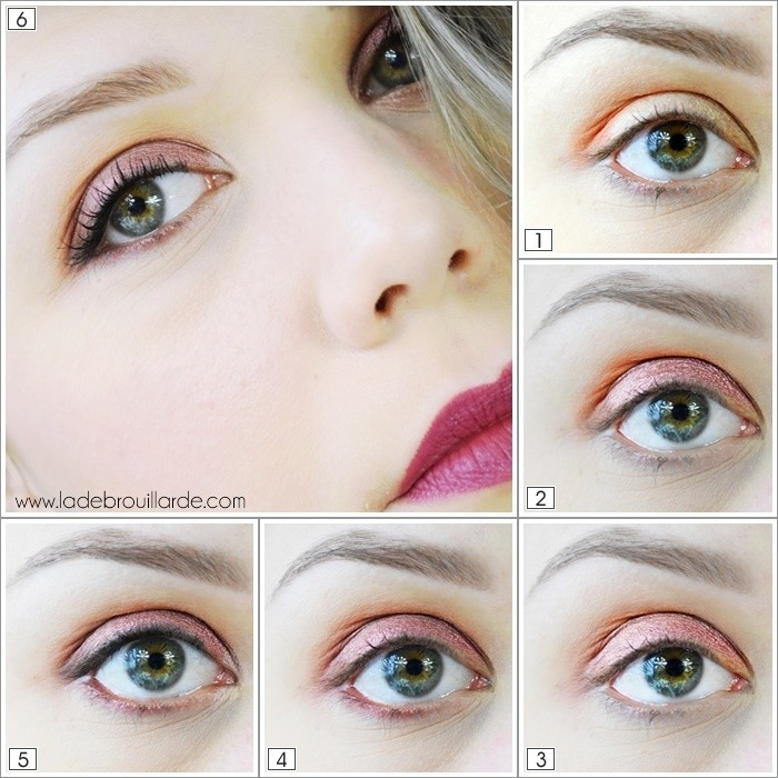 tutoriel maquillage quotidien coloré