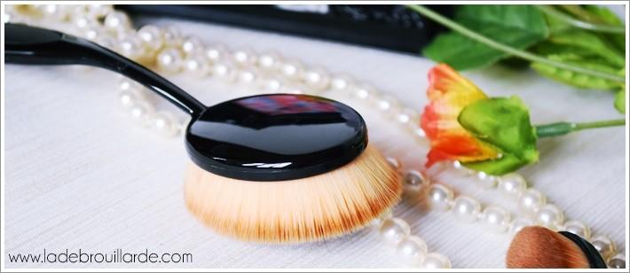 Pinceaux maquillage tendance Brosse